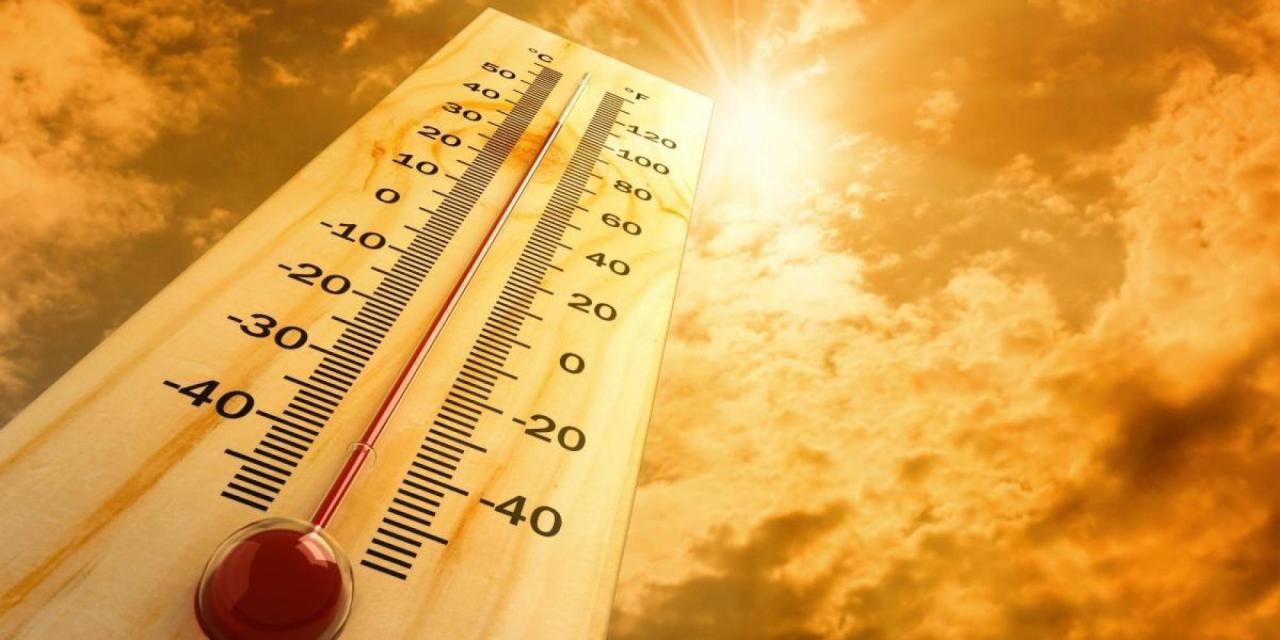 أرتفاع درجات الحرارة