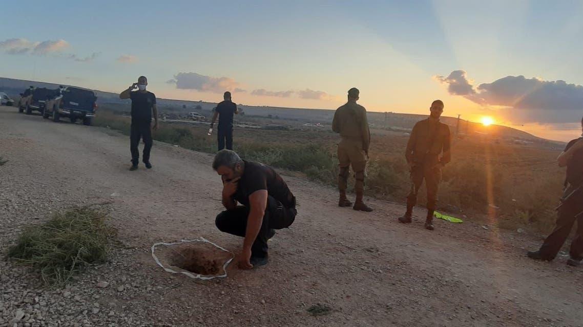 هروب 6 فلسطينيين